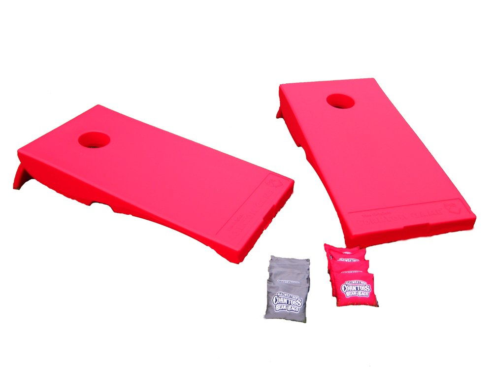 Driveway Games All Weather Corntoss Bean Bag  Game - RED