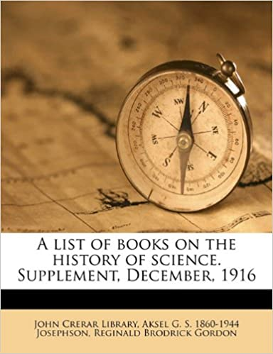 A list of books on the history of science. Supplement,
