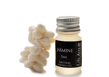 Profumo Aceite de aroma Jazmín Botella de 5cc Fragancia Natural (4cm x 2cm)