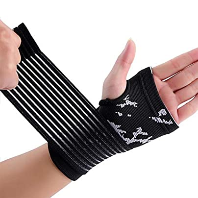 1pcs Breathable Pressure Wrist Protector Sleeve Ultrathin Detachable Wristband Wrist Support Fitness Yoga Wrist Wraps Hand Brace Wrist Support wrist straps Color Black Size One siez fits all Estimated Price £16.37 -