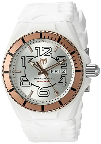 Technomarine Men's 'Cruise JellyFish' Swiss Quartz Stainless Steel Casual Watch (Model: TM-115145)