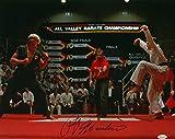 #5: Ralph Macchio Signed Karate Kid 16x20 Photograph vs Johnny Lawrence JSA