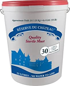 Reserve Du Chateau 6 Week Wine Kit, Italian Pinot Nero, 55-Pound Container