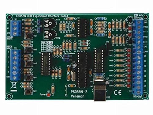 HQ K8055N - Tarjeta interfaz USB de experimentación