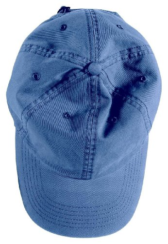 Cotton Twill Pigment (Authentic Pigment Direct-Dyed Cotton Twill Cap, INDIGO, One Size)