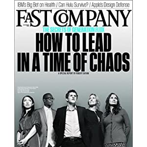 Audible Fast Company, November 2012 Periodical