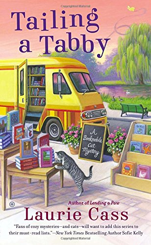 Tailing a Tabby (A Bookmobile Cat Mystery) (Tuxedo Tabby Cat)