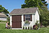 Little Cottage Company 10x12 PCGS-WPNK Colonial Pinehurst Storage Shed 10' X 12' Primed Tan