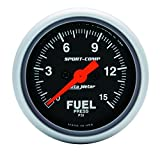 Auto Meter 3361 Sport-Comp Electric Fuel Pressure Gauge