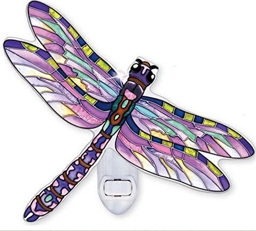 Purple Dragonfly Nightlight (Dragonfly Night Light)