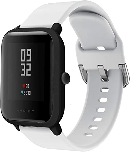 Amazon.com: Replacement Strap for Huami Amazfit Bip Youth ...