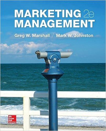 Marketing Management Greg Marshall