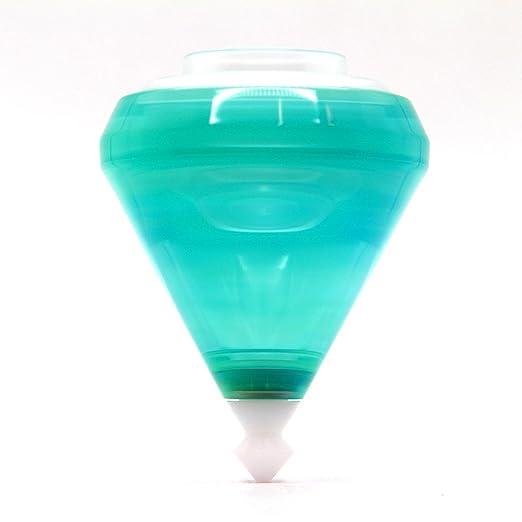YoyoFactory ELEC-Trick Trompo con Rodamientos de Bolas y Cuerda - Azul / Verde (De Principiante a Profesional, toupie, trompo, spintop, peonza): Amazon.es: ...