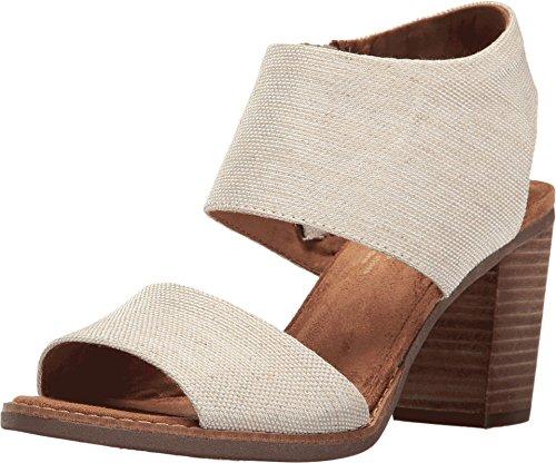 TOMS Women's Majorca Cutout Sandal Natural Yarn-Dye Sandal
