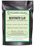 Bentonite Clay - Fine Natural Food Grade Sodium Montmorillonite Bentonite - 325 Mesh Powder, 50 lb
