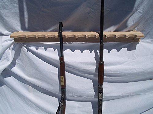 Oak Closet Gun Rack