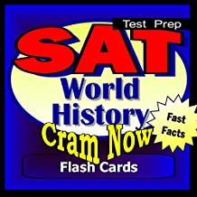 SAT Prep Test WORLD HISTORY Flash Cards-CRAM NOW!-SAT 2 Exam Review Book & Study Guide (SAT II Cram Now! 5)