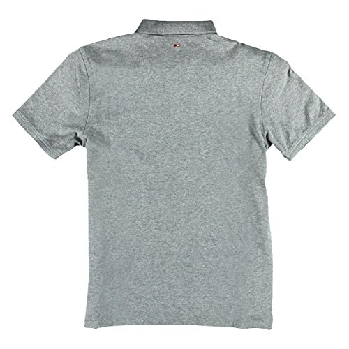 emilio adani Herren Button Down-Poloshirt, 23713, Grau