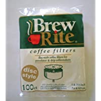 Disc Coffee Filter 3 & 3 Percolator 600 ct. Brew Rite