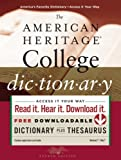 The American Heritage College Dictionary, Fourth Edition, Editors of the American Heritage Dictionaries, 0547247664