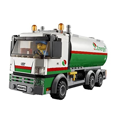 LEGO City Tanker Truck 60016: Toys & Games