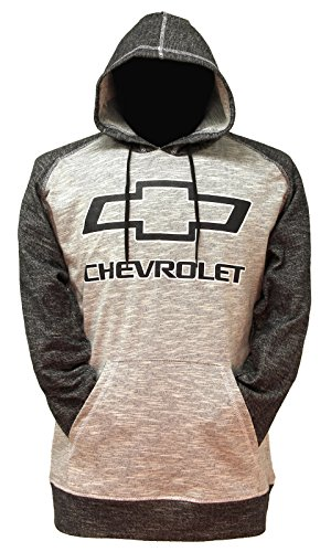 gm-chevrolet-mens-pullover-hoodie-large-heather-gray-charcoal