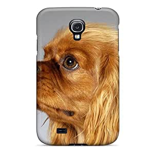 Protective Tpu Case With Fashion Design For Galaxy S4 (desktop Puppy English Toy Spaniel)