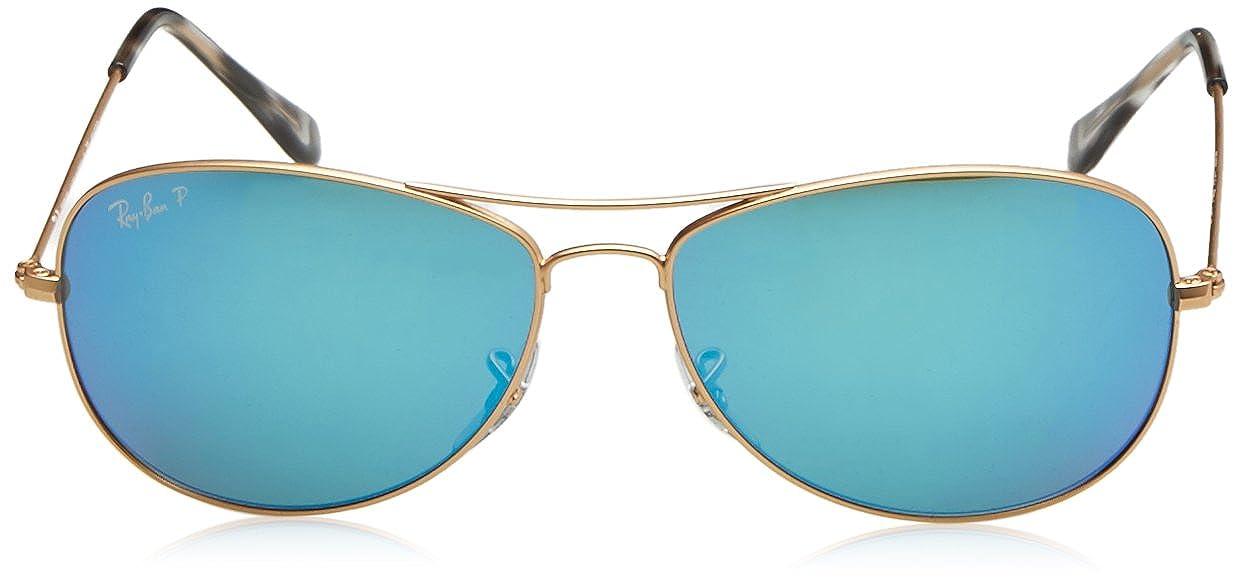 Ray-Ban RB 3562 Gafas de sol, Matte Gold, 59 para Hombre: Amazon.es ...