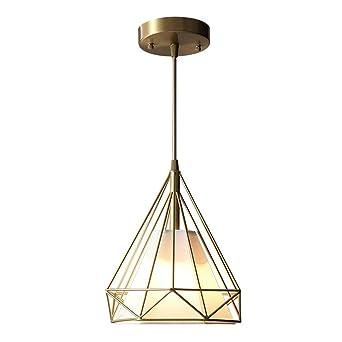 24 * 26.5cm Araña-estadounidense de cobre de la lámpara, moderno ...