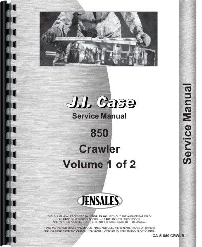 Download Case 850 Crawler Service Manual pdf epub