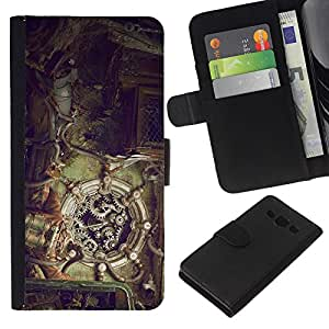 Stuss Case / Funda Carcasa PU de Cuero - Mecánica Steampunk - Samsung Galaxy A3