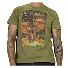 Putrefied Post Sexy Female Zombie Military Officer Shirt Zombie Girl Mens T Size: 3XL