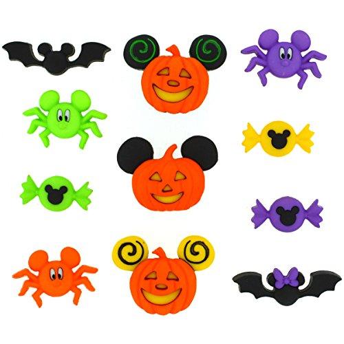 Dress It Up 7922 Disney Button & Embellishments, Mickey & Minnie -