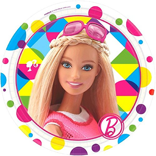Round Plates | Barbie Sparkle Collection | Party Accessory