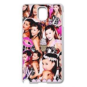 Singer Ariana Grande Pattern Productive Back Phone Case For Samsung Galaxy NOTE3 Case Cover -Style-19