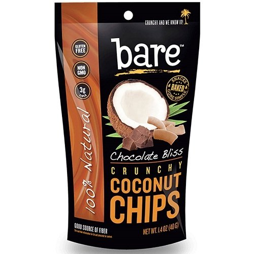 Bare Chocolate Coconut Chips, 2.8 oz
