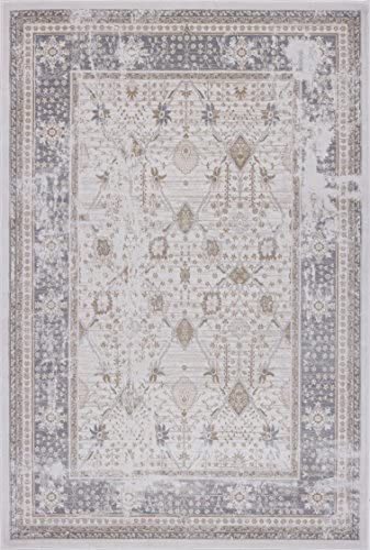 Pierre Cardin Home Lagoon Collection Oriental Traditional/Vintage Design Abstract Area Rugs