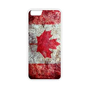 "iPhone6 4.7"" Case TPU (Laser Technology) Protective Skin Cover With Canadian Flag Pattern Fashion Design"