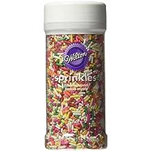 Wilton 710-994 Rainbow Jimmies Food Decorative