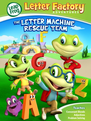 Leapfrog Letter Factory Adventures: The Letter Machine Rescue Team [DVD]