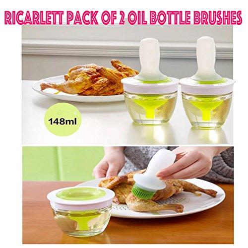 Silicone Basting Brush Oil Dispenser Turkey Baster and Pastr