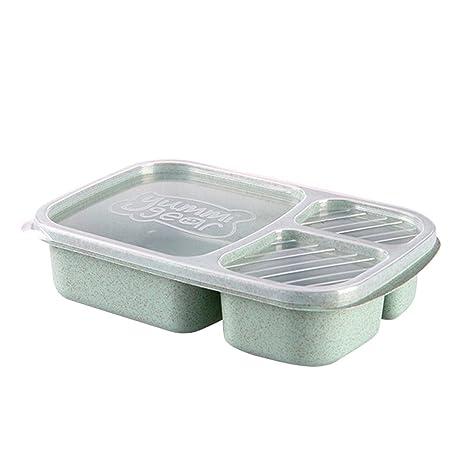 Amazon.com: ounona portátil caja de almuerzo microondas ...