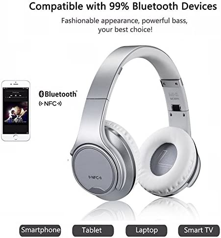 2 in 1 [ Headphone + Speaker ] Bluetooth Wireless Headphone Headset with Flip out Speakers, Ditmo®, and FM Radio + Micro SD Card for iPhone iPad Samsung Android: Amazon.es: Electrónica