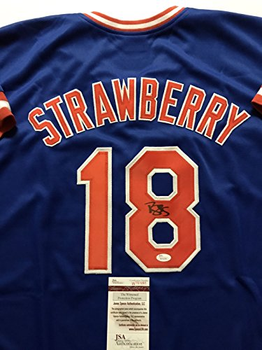 Signed New York Mets Jersey - 3