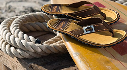 Gumbies Islanders Adulto Sandali Infradito Scarpe Da Spiaggia Numero eu 36 - 12 UK - Nero, 39 EU