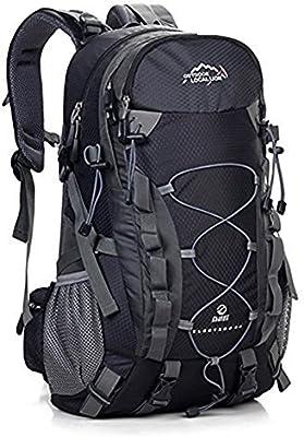 ERWAA 40L Mochilas de Senderismo Deportes al Aire Libre Multifunci/ón Bolsa Impermeable Ciclismo Monta/ña Excursionismo Alpinismo Trekking Viajes Campamento Para Unisex