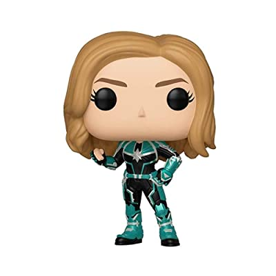Funko Pop! Marvel: Captain Marvel - Vers Toy, Standard, Multicolor: Toys & Games