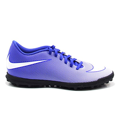 Nike - Zapatillas de fútbol sala de Piel para hombre azul turquesa