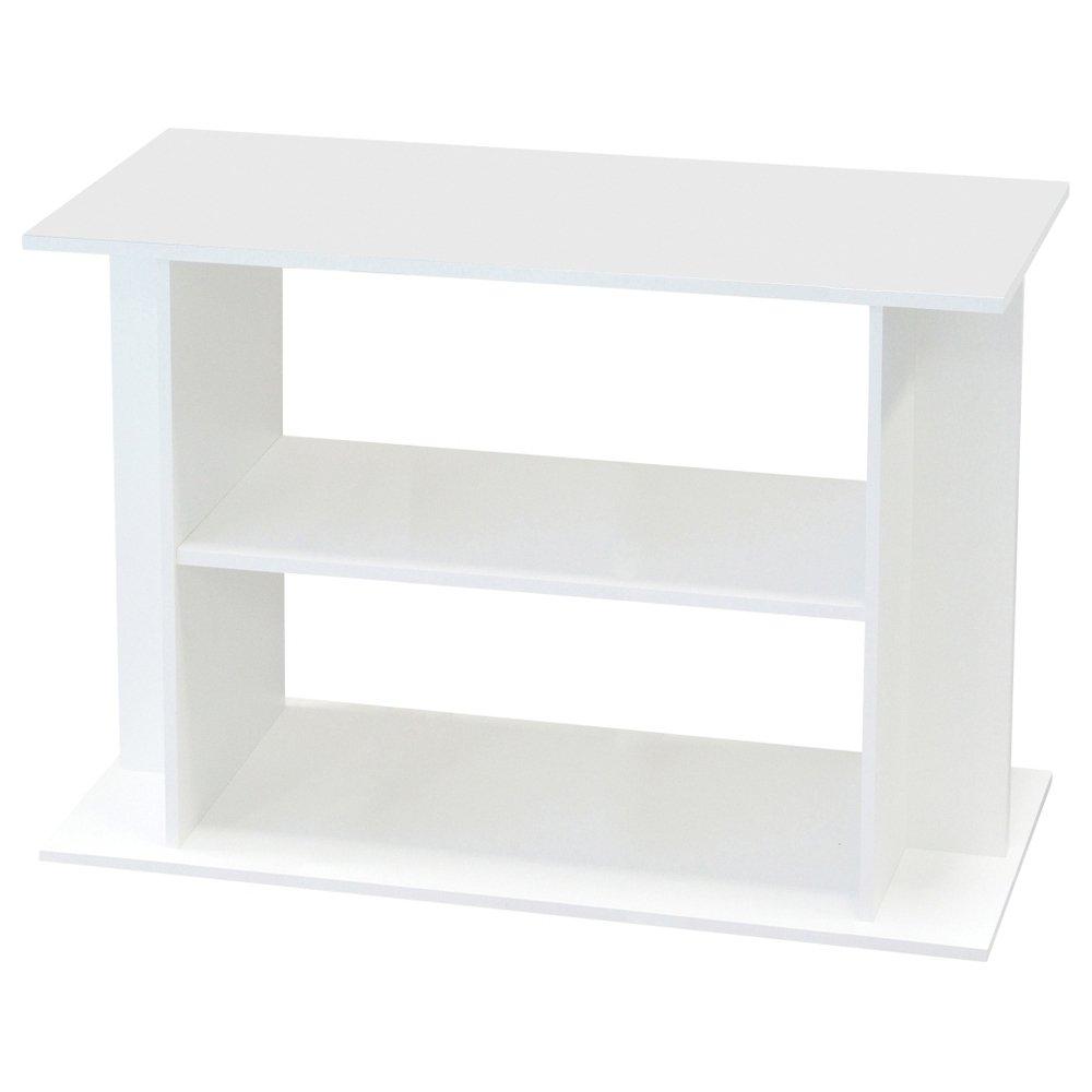 Aquadisio - Meuble pour Aquarium Blanc - 100cm