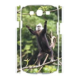 Case Of Monkey Customized Hard Case For Samsung Galaxy S3 I9300